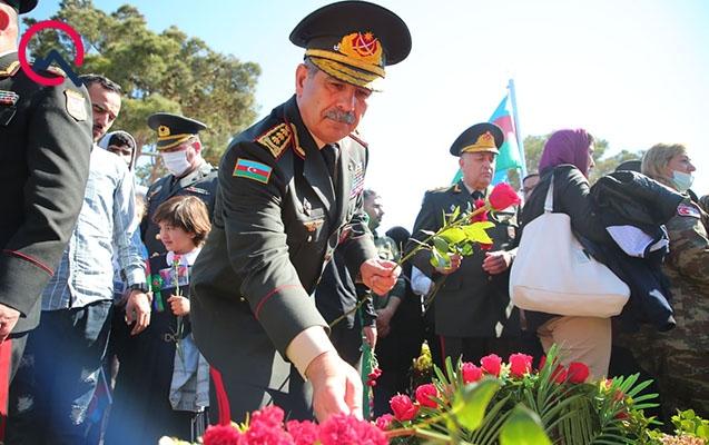 Zakir Həsənov II Fəxri xiyabanda