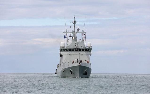 NATO gəmiləri Gürcüstanın ərazi sularına daxil olub