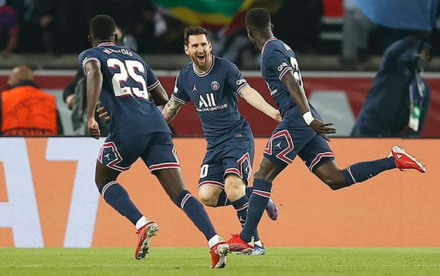 Messi PSJ-də ilk qolunu vurdu