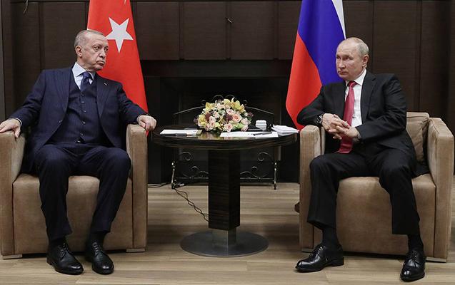 Putinlə Ərdoğanın Soçi görüşü başladı - Yenilənir