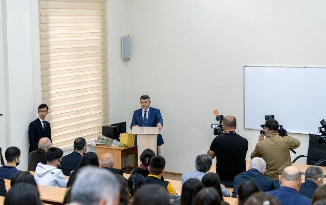 İnam Kərimov Aqrar Universitetində tədrisin təşkili prosesi ilə tanış oldu