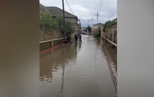 Bakıdakı yağışın fəsadları ilə bağlı açıqlama