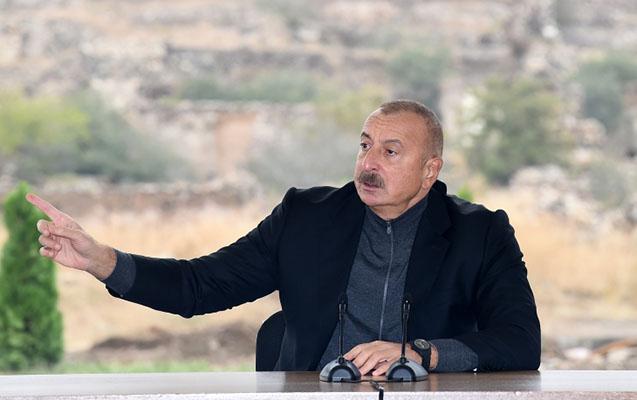 """""""Füzuli azad olunandan sonra bir bina tapılmadı ki, bayrağımızı sancaq"""""""