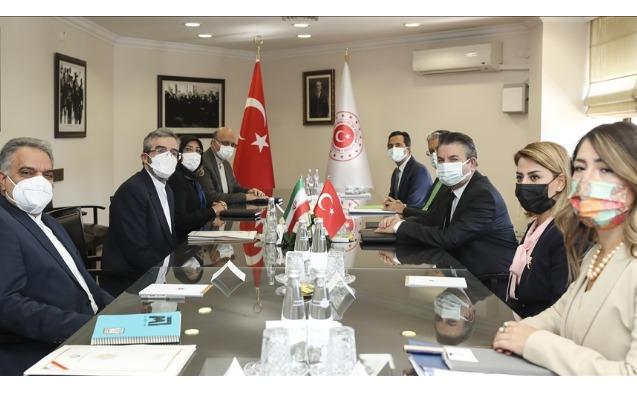 Türkiyə və İran arasında siyasi məsləhətləşmələr aparılıb - Foto