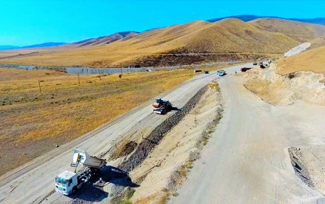 Talış-Tapqaraqoyunlu-Qaşaltı-Naftalan yolunun tikintisinə başlanıldı