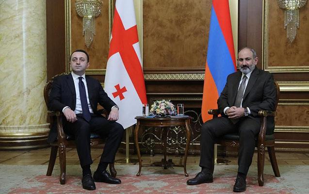 Qaribaşvili Paşinyanla nəyi müzakirə edib?
