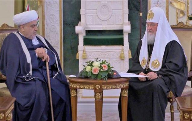 Allahşükür Paşazadə ilə Patriarx Kirillin görüşü oldu