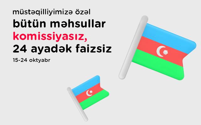 """""""Kontakt""""da bütün məhsullar 24 ay faizsiz"""