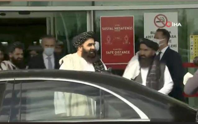"""""""Taliban""""ın nümayəndə heyəti Türkiyədə - Video"""
