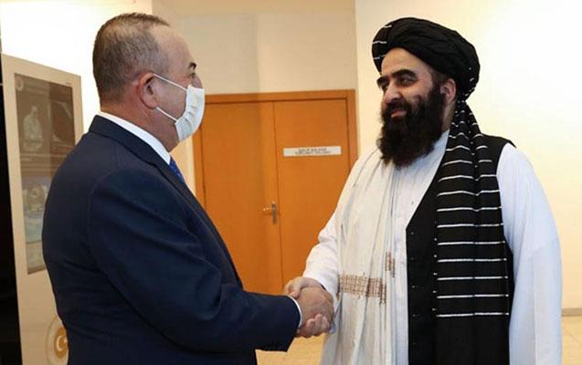 """Çavuşoğlu """"Taliban""""ın heyəti ilə görüşdü - Nələrdən danışdılar?"""