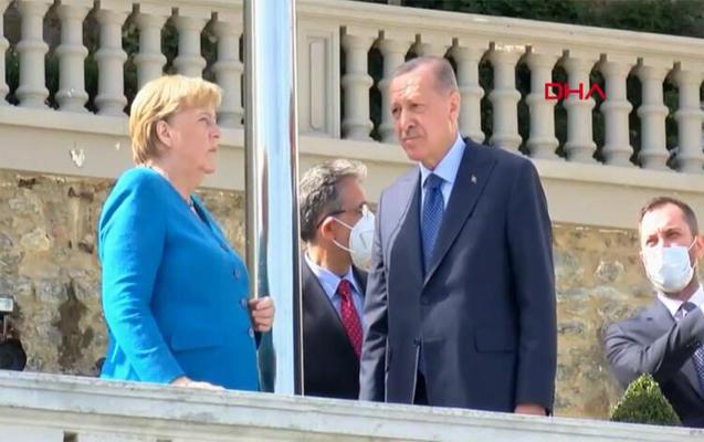 Ərdoğanla Merkel arasında görüş keçirilir