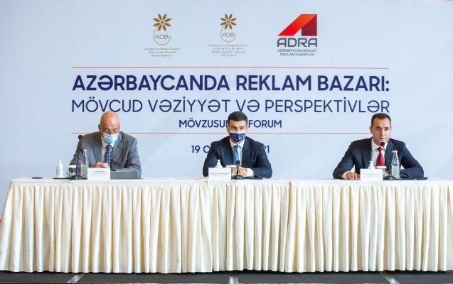 Azərbaycanda reklam bazarının mövcud vəziyyəti müzakirə edildi