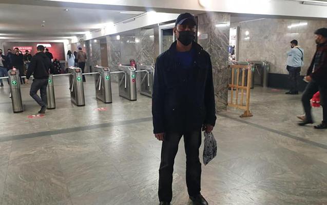 COVID xəstəsi metroda tutuldu
