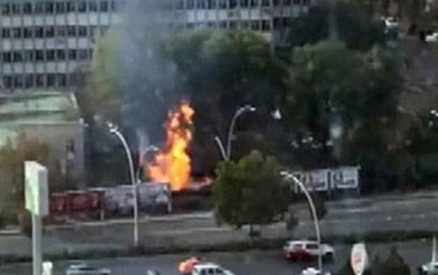 Ankarada partlayış oldu