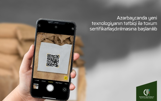 Toxum sertifikatlaşdırılmasında yeni texnologiya tətbiq edilir