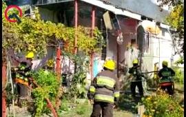 Şəhid atasının evi yanıb kül oldu - Video