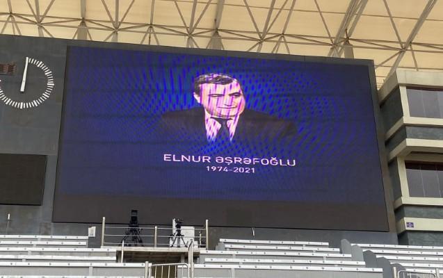 """""""Qarabağ"""" Elnur Əşrəfoğlunun xatirəsini belə anacaq"""