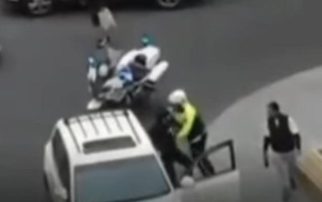 Polislə sürücü arasındakı insidentlə bağlı açıqlama