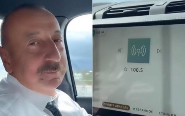Prezidentlə xanımı hansı radionu dinləyirdi?