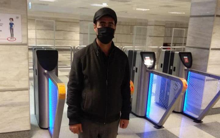 Koronavirus xəstəsi metroda tutuldu