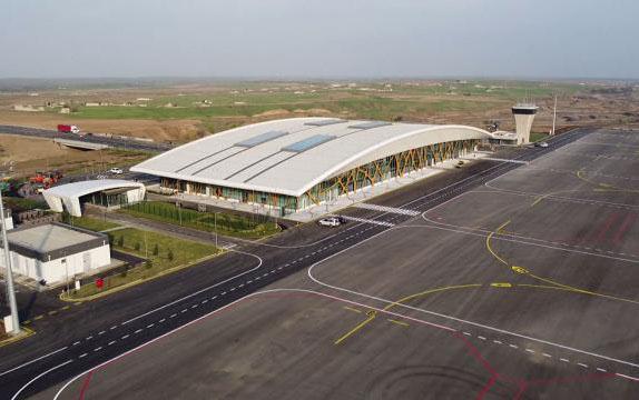 Füzuli aeroportundan son görüntülər - Video