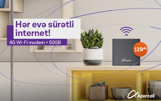 Azercell-dən yeni Wi-Fi kampaniyası!