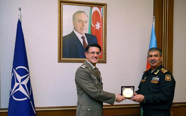 Zakir Həsənov NATO nümayəndəsi ilə görüşdü