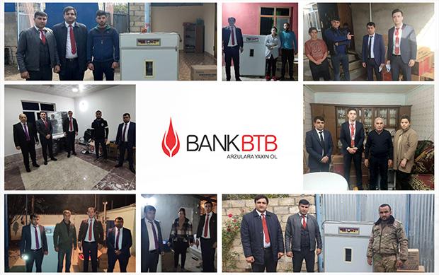Bank BTB özünüməşğulluq proqramında fəal iştirakına davam edir