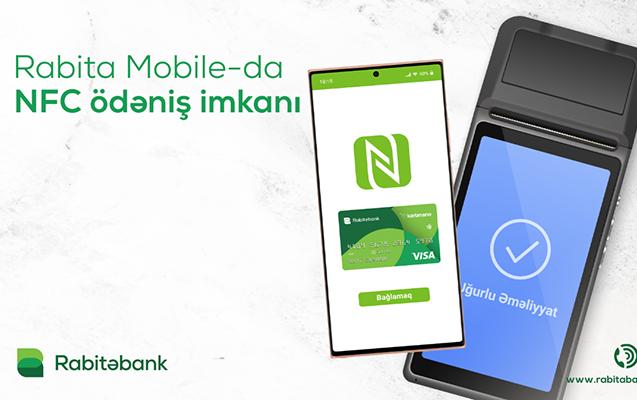 NFC ödənişləri artıq Rabitəbankda!