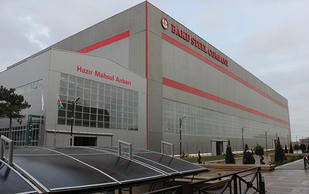 """""""Baku Steel Company"""" son aylar böyük uğurlar əldə edib"""