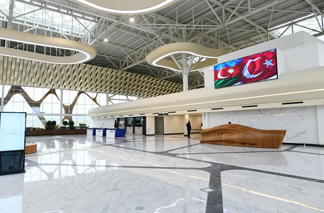 Füzuli aeroportunun inşasında neçə Türkiyə şirkəti iştirak edib?