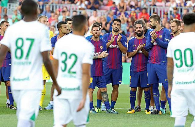 """""""Barselona""""dan futbol dərsi"""