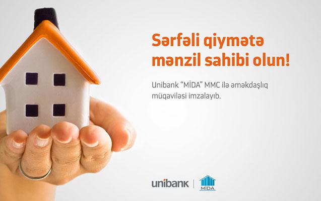 Unibankla mənzil sahibi olun!
