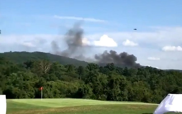 ABŞ-da helikopter qəzaya uğradı