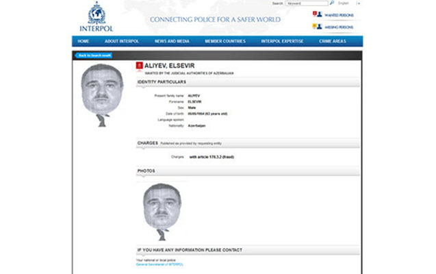 İnterpol 63 yaşlı azərbaycanlını axtarır