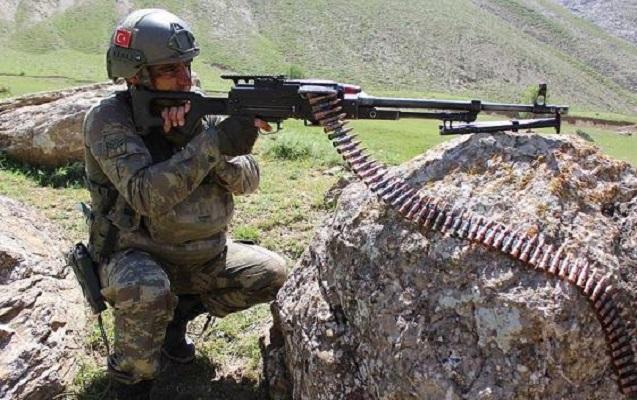 Türkiyədə bir həftədə 43 terrorçu məhv edilib