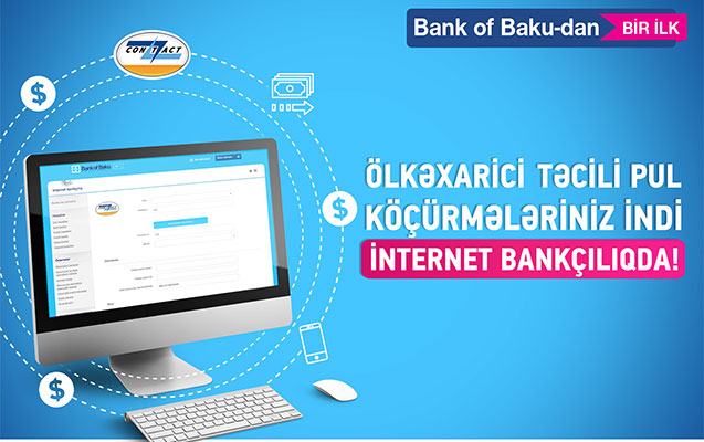 Bank of Baku-dan bir İLK