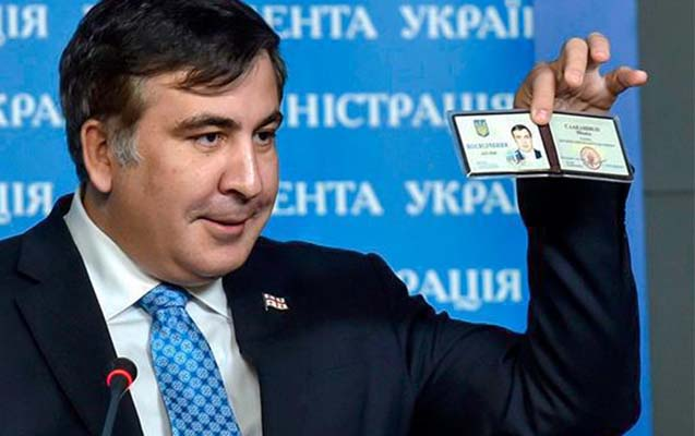 Saakaşvili Ukraynaya qayıdacağı günü açıqladı