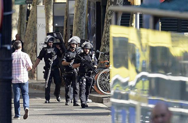 Kataloniyada anti-terror əməliyyatı