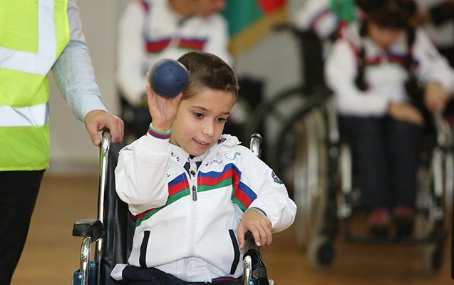 Uşaq paralimpiyaçılarımız beynəlxalq yarışda