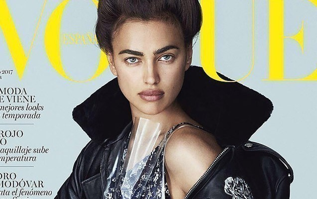 """İrina """"Vogue"""" üçün poz verdi"""