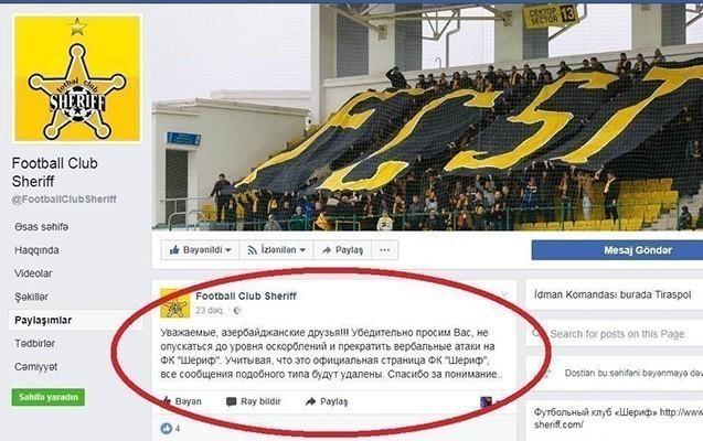 """""""Qarabağ""""lı fanatlardan təhqir"""