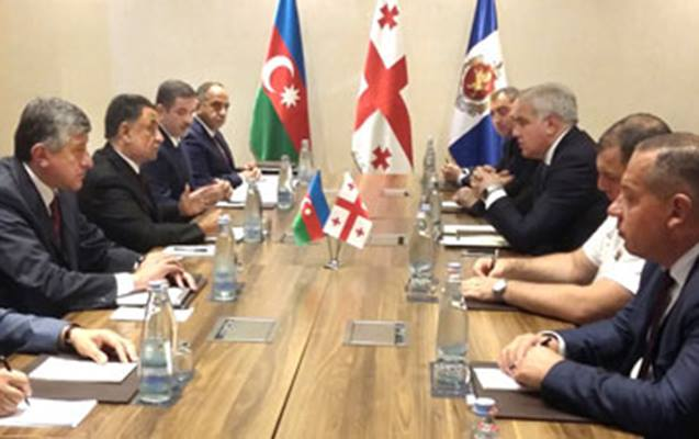 Ramil Usubov Gürcüstana gedib