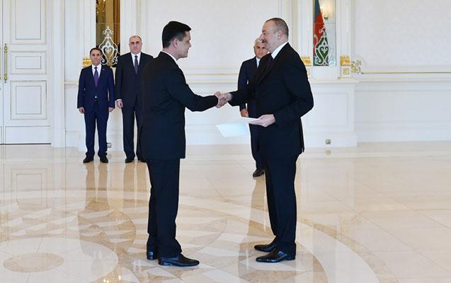 Prezident yeni səfirin etimadnaməsini qəbul etdi