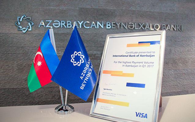 Beynəlxalq Bank VISA kartları ilə ödənişlərin həcminə görə liderdir