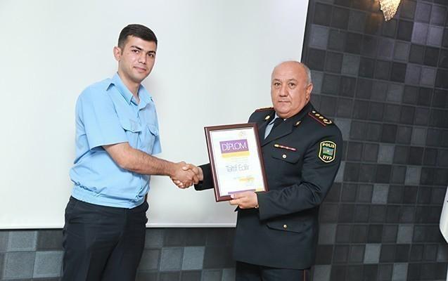 Xaliq Faiqoğlu nümunəvi sürücüləri mükafatlandırdı -