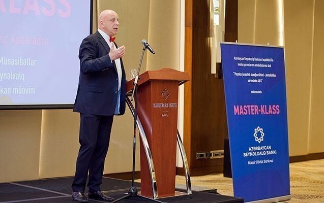 Beynəlxalq Bank media nümayəndələri üçün master-klass təşkil etdi