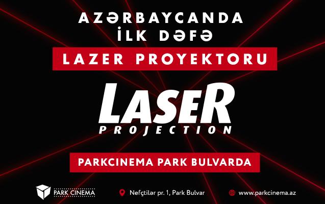 Azərbaycanda ilk lazer proyektoru Park Cinema-da quraşdırılıb
