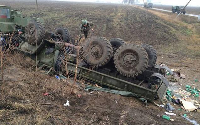 Qarabağda hərbi maşın aşıb, 15 erməni hərbçi yaralanıb