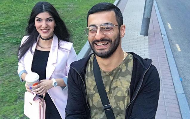 Erməni cütlük Azərbaycan mahnısını oxuyub oynadı